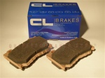CL Brakes 4170RC5+ RC5+ Brake Pads Front 2009+ Nissan 370z 2008+ Infiniti G37 Coupe Sport Models Only (Akebono)