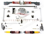 CorteX Racing CCS-40-1000 Xtreme-Grip Suspension System (Track) 2005-2012 Ford Mustang