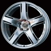 Enkei Racing RP05 Silver Wheel Set for 2008+ Infiniti G37 Coupe 19x8.5 19x9.5