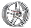Enkei Racing 432-885-6530SP RP05 18X8.5 30mm Offset 5X114.3 22.9 lbs. 75 Metallic Silver Wheel