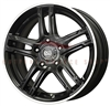 Enkei 434-770-4940BK FD-05 17X7 40mm Offset 4X100 72.62 Matte Black Wheel