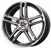 Enkei 434-570-4938GMM FD-05 15X7 38mm Offset 4X100 72.62 Gunmetal Machined Wheel