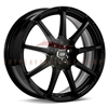 Enkei 441-770-0238BK EDR9 17x7 38mm Offset 5X100 5X114.3 72.6 Matte Black Wheel