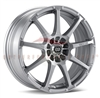 Enkei 441-770-0238SP EDR9 17x7 38mm Offset 5X100 5X114.3 72.6 Silver Wheel