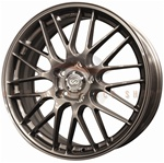 Enkei 442-880-1242GM EKM3 18x8 42mm Offset 5x120 72.6 Gunmetal Wheel