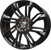 Enkei 448-770-1142BK GW8 17x7 42mm Offset 4X100 4X108 72.6 Matte Black Wheel