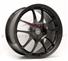 Enkei Racing 460-895-6545BK PF01 18x9.5 45mm Offset 5x114.3 20.35 lbs. 75 Matte Black Wheel