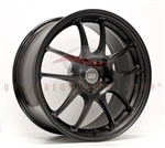 Enkei Racing 460-895-8045BK PF01 18x9.5 5x100 45mm Offset 75 Hub Bore 23lbs. Black Wheel