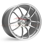 Enkei Racing 460-780-4435SP PF01 17x8 35mm Offset 5x112 18.20 lbs. 75 Silver Wheel