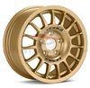 Enkei Racing 463-565-6550GG RC-G4 15x6.5 50mm Offset 5x114.3 16.8 lbs. 75 Gold Wheel