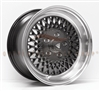 Enkei 465-570-4838BK ENKEI92 15x7 38mm Offset 4x114.3 72.6 Black w/ Machined Lip Wheel