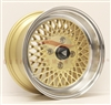 Enkei 465-570-4838GG ENKEI92 15x7 38mm Offset 4x114.3 72.6 Gold w/ Machined Lip Wheel