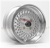 Enkei 465-570-4838SP ENKEI92 15x7 38mm Offset 4x114.3 72.6 Silver w/ Machined Lip Wheel
