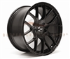 Enkei 467-895-8045BK RAIJIN Black Tuning Wheel 18x9.5 5x100 45mm Offset 72.6 Hub Bore