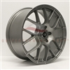 Enkei 467-980-1232GM RAIJIN Titanium Gray Tuning Wheel 19x8 5x120 32mm Offset 72.6 Hub Bore