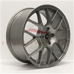 Enkei 467-880-1242GM RAIJIN 18x8 42mm Offset 5x120 72.6 Titanium Gray Wheel 20.3lbs