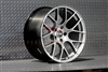 Enkei 467-980-1232HS RAIJIN Hyper Silver Tuning Wheel 19x8 5x120 32mm Offset 72.6 Hub Bore