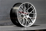 Enkei 467-980-4445HS RAIJIN Hyper Silver Tuning Wheel 19x8 5x112 45mm Offset 72.6 Hub Bore