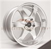 Enkei 470-295-7320SM ST6 20x9.5 5x127 20mm Offset 71.6 Hub Bore Silver Machined Wheel