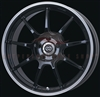Enkei Racing 472-770-4938BK RSM9 17x7 38mm Offset 4x100 75 Piano Black Wheel