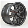 Enkei Classic 477-555-1517GM COMPE 15x5.5 17mm Offset 4x130 72.6 Matte Gunmetal Wheel
