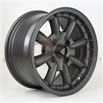 Enkei Classic 477-670-4938GM COMPE 16x7 38mm Offset 4x100 72.6 Matte Gunmetal Wheel