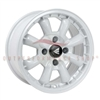 Enkei Classic 477-555-1517WP COMPE 15x5.5 17mm Offset 4x130 72.6 White Wheel