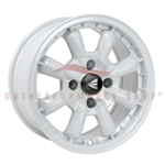 Enkei Classic 477-570-4938WP COMPE 15x7 38mm Offset 4x100 72.6 White Wheel