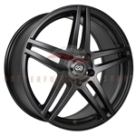 Enkei Performance 479-670-4938BK RSF5 16x7 38mm Offset 4x100 72.6 Matte Black Wheel