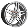 Enkei Performance 479-565-4938HS RSF5 15x6.5 38mm Offset 4x100 72.6 Hyper Silver Wheel