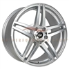 Enkei Performance 479-565-4938SM RSF5 15x6.5 38mm Offset 4x100 72.6 Silver Machined Wheel