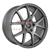 Enkei Performance 480-565-4938GR M52 15x6.5 38mm Offset 4x100 72.6 Matte Gray Wheel