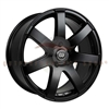 Enkei Performance 481-675-6538BK BR7 16x7.5 38mm Offset 5x114.3 72.6 Matte Black Wheel