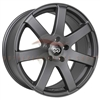 Enkei Performance 481-675-6538GR BR7 16x7.5 38mm Offset 5x114.3 72.6 Matte Gray Wheel
