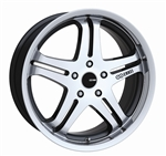 Enkei 483-775-1245MF M5 Mirror Finish Truck Wheel 17x7.5 5x120 45mm Offset 72.6 Hub Bore