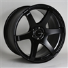Enkei 485-780-4445BK T6S Matte Black Tuning Wheel 17x8 5x112 45mm Offset 72.6 Hub Bore