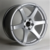 Enkei 485-780-4445SP T6S Matte Silver Tuning Wheel 17x8 5x112 45mm Offset 72.6 Hub Bore