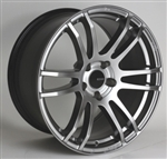 Enkei 486-895-4435HS TSP6 Hyper Silver Tuning Wheel 18x9.5 5x112 35mm Offset 72.6 Hub Bore