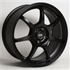 Enkei 488-565-4942BK GT7 Matte Black Performance Wheel 15x6.5 4x100 42mm Offset 72.6 Hub Bore