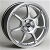 Enkei 488-565-4942HS GT7 Hyper Silver Performance Wheel 15x6.5 4x100 42mm Offset 72.6 Hub Bore