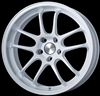 Enkei Racing 489-790-6500WP PF01 EVO 17x9 5x114.3 0mm Offset 75mm Hub Bore 2.72inch Lip 19.04lbs. Pearl White Wheel