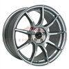 Enkei 492-780-4445GR TS9 Platinum Gray Tuning Wheel 17x8 5x112 45mm Offset 72.6 Hub Bore