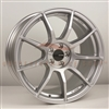 Enkei 492-780-6535SP TS9 Matte Silver Tuning Wheel 17x8 5x114.3 35mm Offset 72.6 Hub Bore