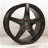 Enkei 493-565-4938BK PSR5 Matte Black Performance Wheel 15x6.5 4x100 38mm Offset 72.6 Hub Bore