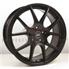 Enkei 494-565-4938BK YS5 Matte Black Performance Wheel 15x6.5 4x100 38mm Offset 72.6 Hub Bore