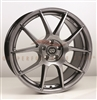 Enkei 494-565-4938HB YS5 Hyper Black Performance Wheel 15x6.5 4x100 38mm Offset 72.6 Hub Bore