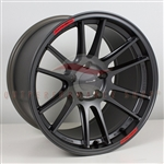 Enkei Racing 504-810-6522GM GTC01RR 18x10 22mm Offset 5x114.3 Concave Rear Face 75mm Bore Matte Gunmetal Wheel