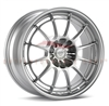 Enkei Racing 3657754940SP NT03+M 17X7.5 40mm Offset 4X100 72.6 F1 Silver Wheel