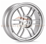 Enkei Racing 3798808045SP RPF1 18X8 45mm Offset 5X100 17.95 lbs. 56 F1 Silver Wheel